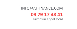 Affinance contact